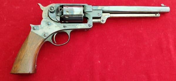 X X X SOLD X X XAmerican Civil War .44 cal STARR Percussion Revolver. 90 % original finish. Ref 2727